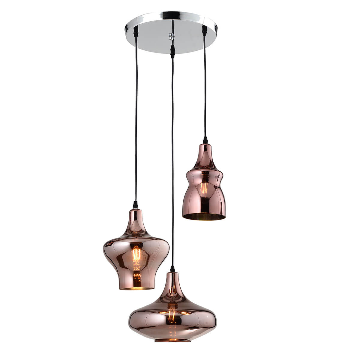 lamparas cobre Almacenes Ortega Lampara Colgante Cobre Licht Almacenes